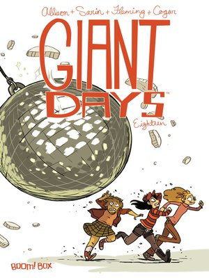 cover image of Giant Days (2015), Issue 18