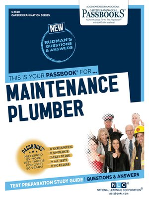 cover image of Maintenance Plumber