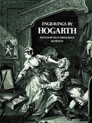 cover image of Engravings by Hogarth