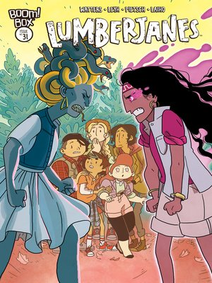 cover image of Lumberjanes #31