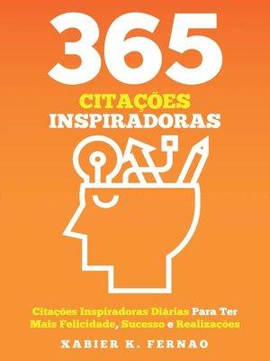 cover image of 365 Citações Inspiradoras