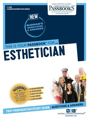 cover image of Esthetician
