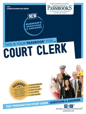 cover image of Court Clerk