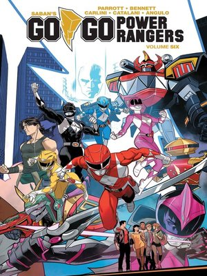cover image of Saban's Go Go Power Rangers Volume 6
