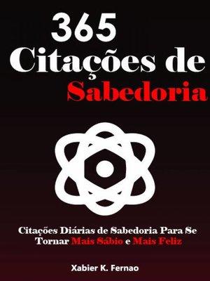 cover image of 365 Citações de Sabedoria