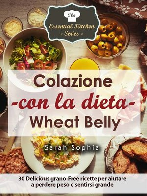 cover image of Colazione con la dieta Wheat Belly