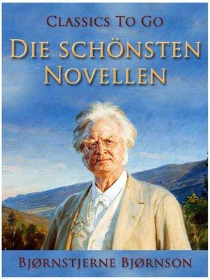 cover image of Die schönsten Novellen