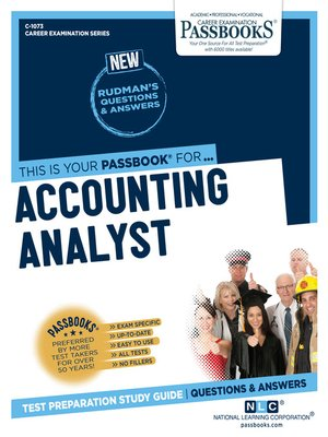 cover image of Accounting Analyst