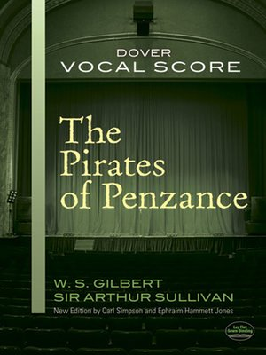 cover image of The Pirates of Penzance Vocal Score