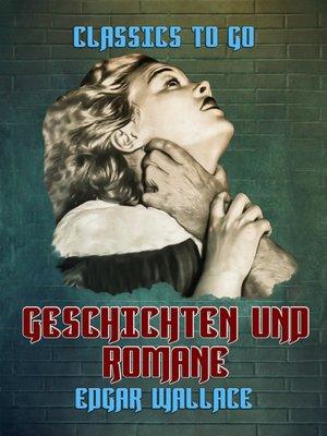 cover image of Geschichten und Romane