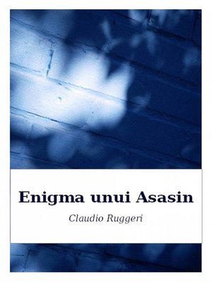 cover image of Enigma Unui Asasin
