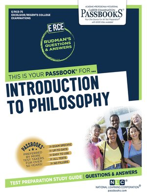 cover image of Introduction to Philosophy