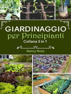 cover image of Giardinaggio per principianti
