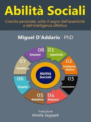 cover image of Abilità   sociali