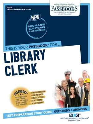 cover image of Library Clerk