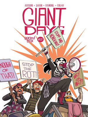 cover image of Giant Days (2015), Issue 27