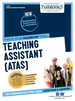 cover image of Teaching Assistant (ATAS)