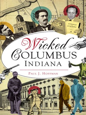 cover image of Wicked Columbus, Indiana