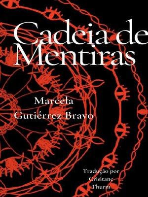 cover image of Cadeia de Mentiras