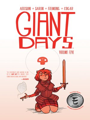cover image of Giant Days (2015), Volume 5