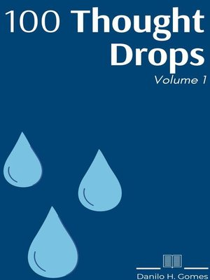cover image of 100 Thought Drops