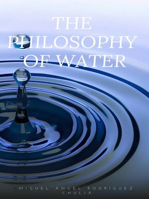 cover image of The Philosophy of Water