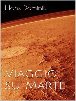 cover image of Viaggio su Marte