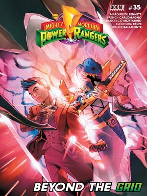 cover image of Mighty Morphin Power Rangers, Issue 35