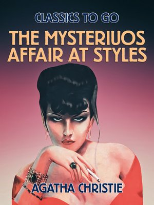 cover image of The Mysteriuos Affair at Styles