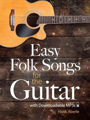 cover image of Easy Folk Songs for the Guitar with Downloadable MP3s