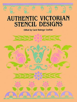 cover image of Authentic Victorian Stencil Designs