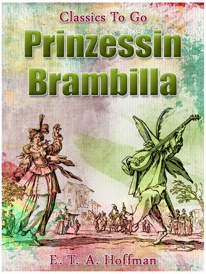 cover image of Prinzessin Brambilla