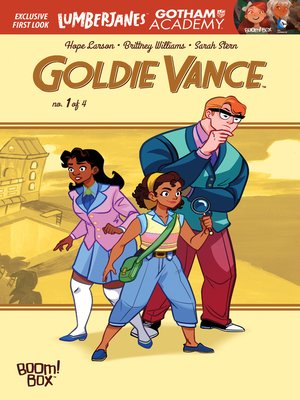 cover image of Goldie Vance #1