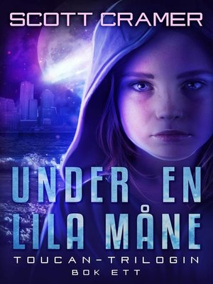 cover image of Under en lila måne