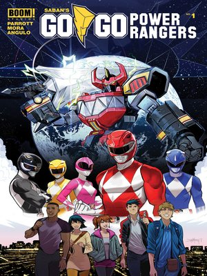 cover image of Saban's Go Go Power Rangers, Issue 1