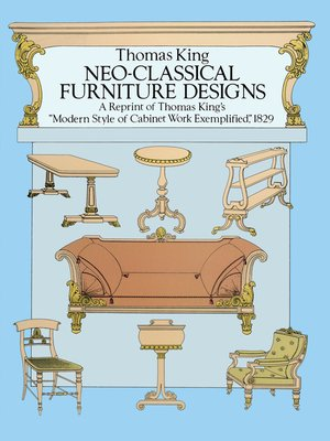 cover image of Neo-Classical Furniture Designs