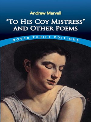 "cover image of ""To His Coy Mistress"" and Other Poems"