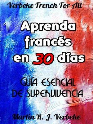 cover image of Aprenda francés en 30 días