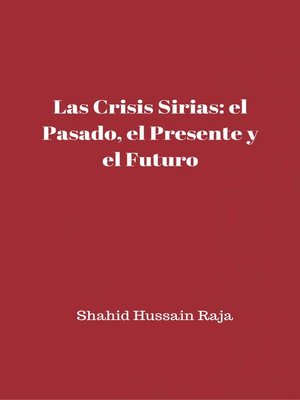 cover image of Las crisis sirias
