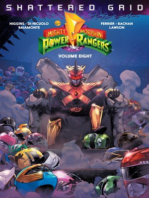 cover image of Mighty Morphin Power Rangers (2016), Volume 8