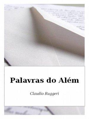cover image of Palavras do Além