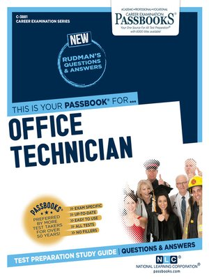 cover image of Office Technician