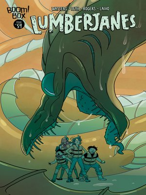cover image of Lumberjanes (2014), Issue 59