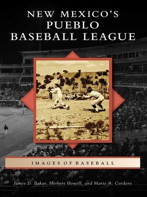cover image of New Mexico's Pueblo Baseball League