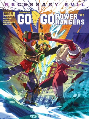cover image of Saban's Go Go Power Rangers, Issue 27