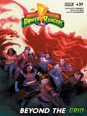 cover image of Mighty Morphin Power Rangers (2016), Issue 37