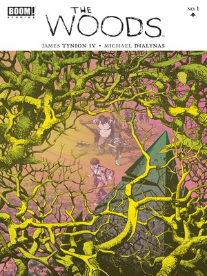 cover image of The Woods, Issue 1