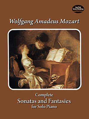 cover image of Complete Sonatas and Fantasies for Solo Piano