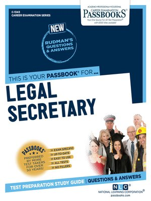 cover image of Legal Secretary