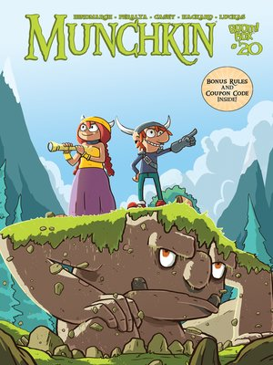 cover image of Munchkin (2015), Issue 20
